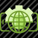 analyst, data, digital, hosting, online, seo, web icon