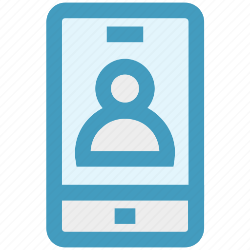 App, info, mobile, mobile account, profile, smartphone, user icon - Download on Iconfinder