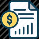 digital, marketing, statement, document, report, money, dollar