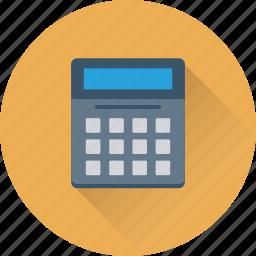 accounting, calculation, calculator, digital calculator, maths icon