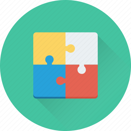 jigsaw, logical thinking, puzzle, solution, strategy icon