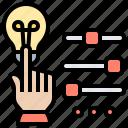 button, clicks, control, function, prioritizing