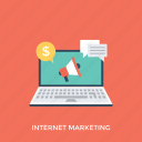 digital marketing, internet marketing, seo, social media, web marketing icon