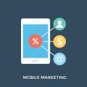 digital marketing, internet marketing, mobile advertising, mobile commerce, mobile marketing icon