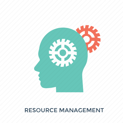 human resources, project management, resource allocation, resource planning, resources management icon