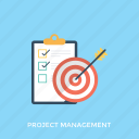 project management, project plan, teamwork, work plan, work strategy icon