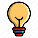 icon, color, business, management, marketing