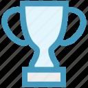 award, cup, digital, prize, trophy, winner icon