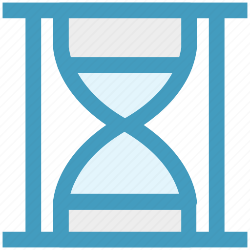 clock, hourglass, loading, sand, sand watch, time icon