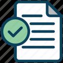 digital, marketing, document, check, paper