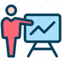 digital, marketing, presentation, business, meeting, board