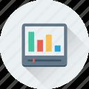 adjuster, analytics, bar chart, bar graph, graph