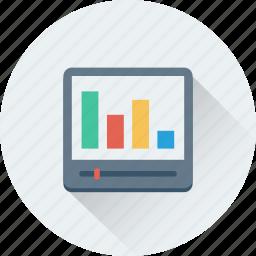 adjuster, analytics, bar chart, bar graph, graph icon