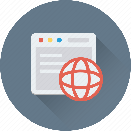 browser, globe, internet, internet explorer, web browsing icon