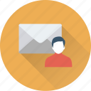 avatar, email, envelope, letter, message