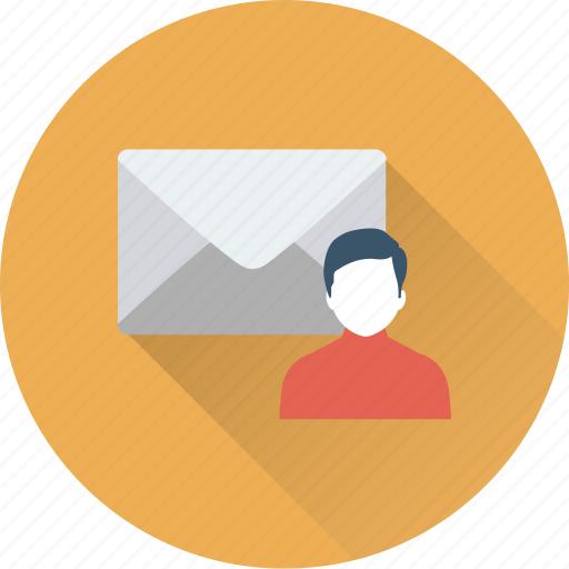 avatar, email, envelope, letter, message icon