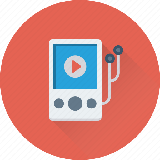 device, ipod, music player, player, walkman icon