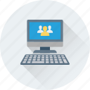 chat, communications, discussion, group, group chat icon