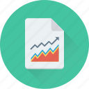 business report, graph report, growth, report, statistics icon
