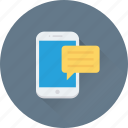 chat bubble, chatting, massage, mobile, sms