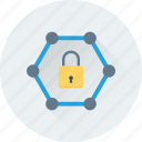access, encryption, lock, padlock, security icon