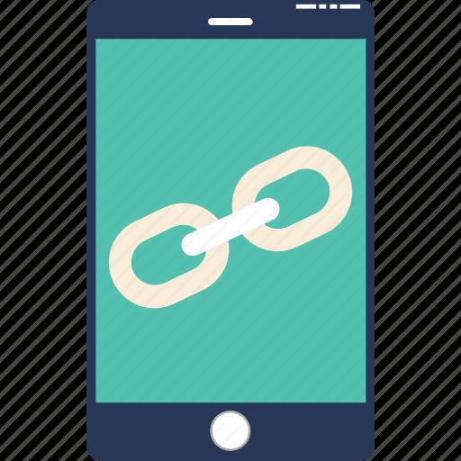 http, internet, link screen, linkage, url icon