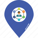 business location, gps with affiliate, location pin, location points, marketing location, marketing points, platform location icon