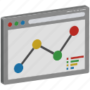 business graph, graph web, growth graph, line graph, online graph, seo graph, statistics icon