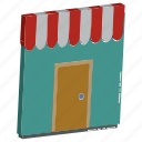 e commerce, market, retail shop, shop, shop front, shopping store, store icon