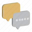 chat bubbles, comments, communication, speech bubble, talk icon