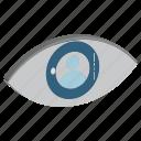 eye, retina, spectrum, view, visible