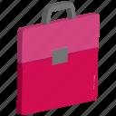 bag, briefcase, business bag, handbag, office bag, official bag, papers bag icon