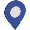 global location, global positioning, globe, gps, location, map pin, worldwide icon
