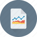 business report, graph, graph report, report, statistics icon
