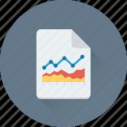 business report, graph, graph report, report, statistics icon