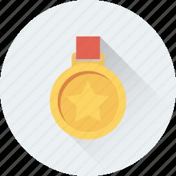 achievement, award, medal, prize, reward icon