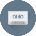 audio tape, cassette, cassette tape, heart, tape icon