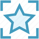 bookmark, digital marketing, favorite, rate, rating, star icon
