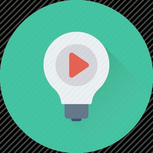 bulb, light bulb, luminaire, music, sound icon