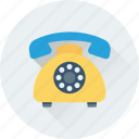 call center, communication, handset, retro telephone, telecommunication icon