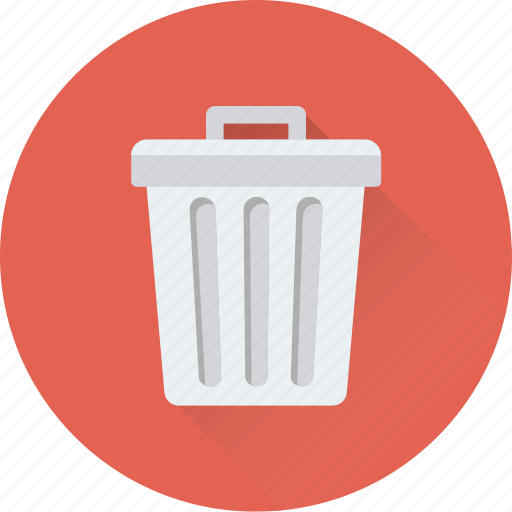 dustbin, garbage can, garbage container, recycle bin, trash can icon
