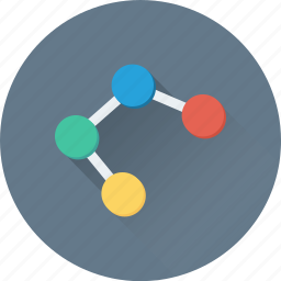 connect, network share, sharing, social media, social network icon