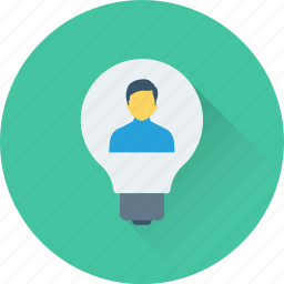 creativity, idea, innovation, intelligence, invention icon
