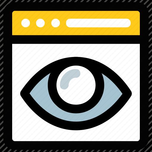 seo, seo visibility, site promotion, visual design, web visibility icon