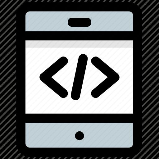 app development, mobile development, mobile programming, mobile software, mobile ui icon