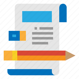 article, content, copywriting, editorial, writing icon