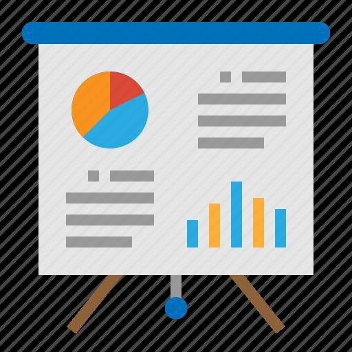 analytics, chart, presentation, sales icon