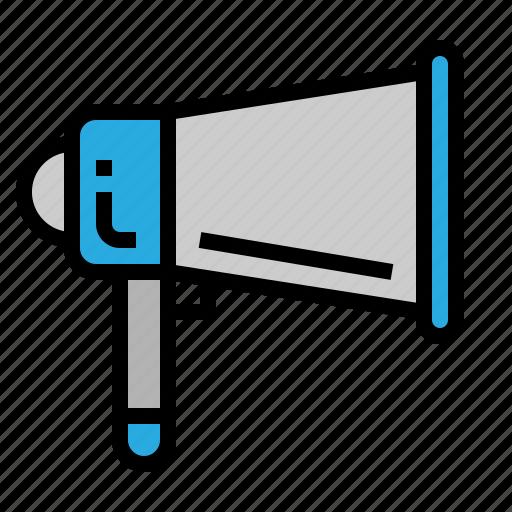 audio, marketing, megaphone, viral icon