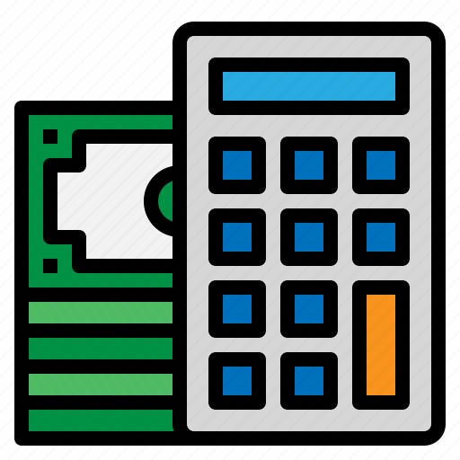budget, calculator, management, money icon