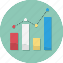 business, chart, graph, growing, growth, profit icon